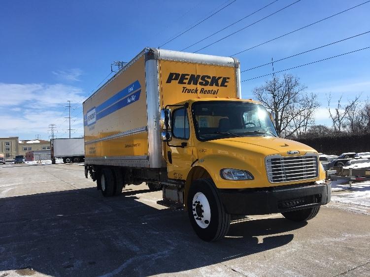 Used 2013 Freightliner M2 Medium Duty Box Truck Unit 640674